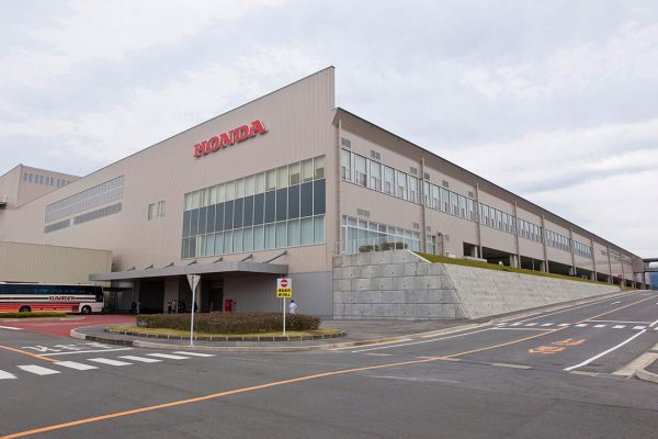 Honda motorcycle factory back to full strength