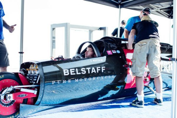 Triumph land speed record attempt set for September