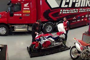 Viral: First Honda RC213V-S arrives in Australia