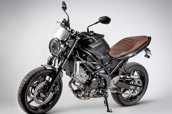 Suzuki goes scrambling with the SV650