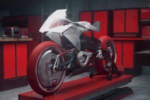 Viral: Bimota EB1 electric motorcycle concept